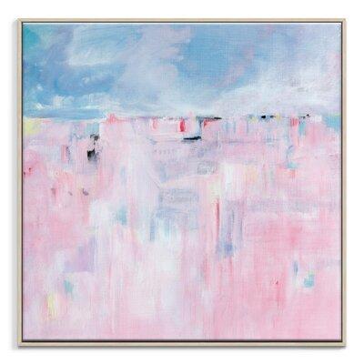 Artist Lane 'New Beginnings' by Brenda Meynell Art Print Wrapped on Canvas