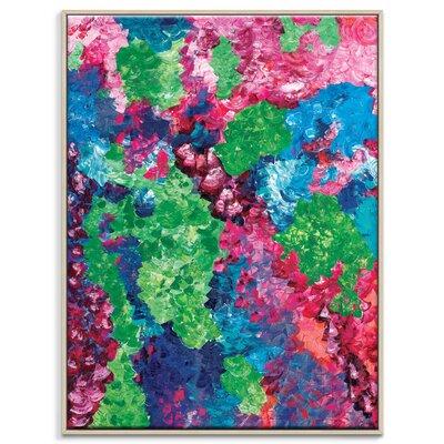 Artist Lane 'Opal Garden' by Josie Nobile Framed Art Print on Wrapped Canvas