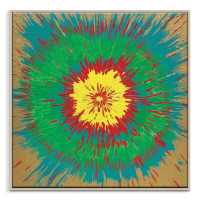 Artist Lane 'Kaleidoscope' by Josie Nobile Framed Art Print on Wrapped Canvas