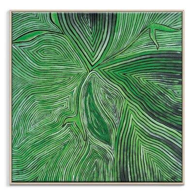 Artist Lane 'Paradise Fling' by Rebecca Vincent Framed Art Print on Wrapped Canvas