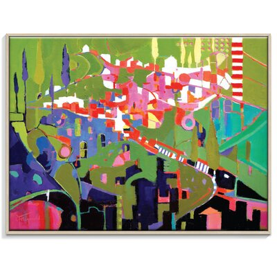 Artist Lane 'European Carnival' by Catherine Fitzgerald Framed Art Print on Wrapped Canvas