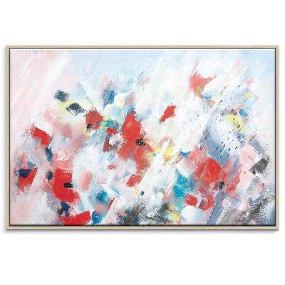 Artist Lane 'Meadow 2' by Brenda Meynell Framed Art Print on Wrapped Canvas