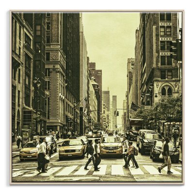 Artist Lane 'Disconnection' by Andrew Paranavitana Photographic Print Wrapped on Canvas