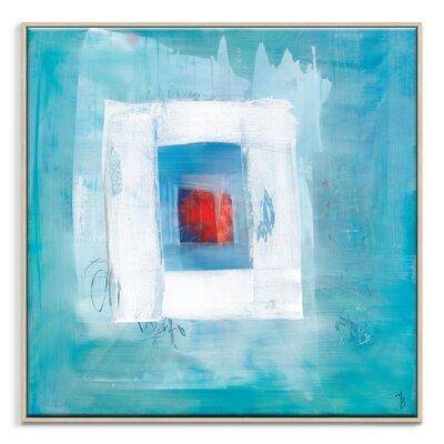 Artist Lane 'King' by Mario Burgoa Framed Art Print on Wrapped Canvas