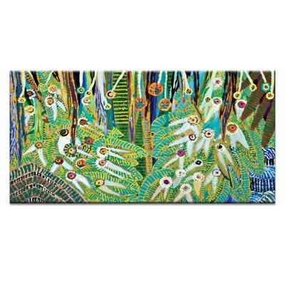 Artist Lane 'Twenty eyes' by Lia Porto Art Print on Wrapped Canvas
