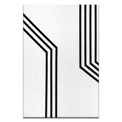 Artist Lane 'Geometric 11' by Chalie MacRae Art Print on Wrapped Canvas