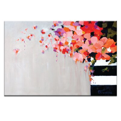 Artist Lane 'Romance' by Catherine Fitzgerald Art Print on Wrapped Canvas