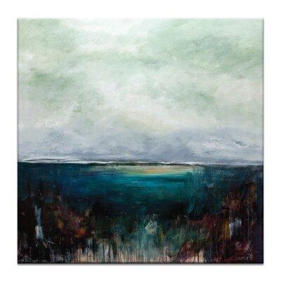 Artist Lane 'Emerald Invite' by Lydia Ben-Natan Art Print on Wrapped Canvas