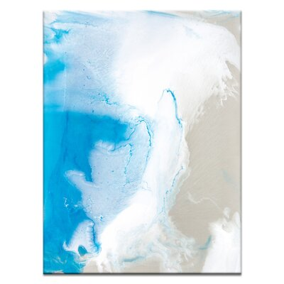 Artist Lane 'Flow 13' by Chalie MacRae Art Print Wrapped on Canvas