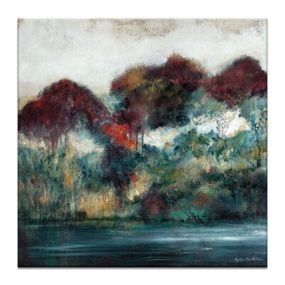 Artist Lane 'Passing by' by Lydia Ben-Natan Art Print on Wrapped Canvas