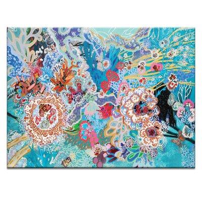 Artist Lane 'Selva submarina' by Lia Porto Art Print Wrapped on Canvas