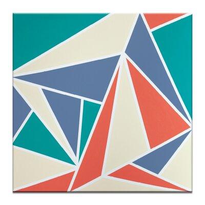 Artist Lane 'Geometric 10' by Chalie MacRae Art Print on Wrapped Canvas