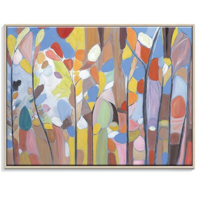 Artist Lane 'Perfect Summer' by Brenda Meynell Framed Art Print on Wrapped Canvas