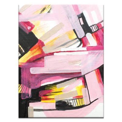 Artist Lane '40415' by Amanda Morie Art Print on Wrapped Canvas