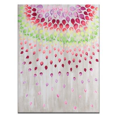 Artist Lane 'Petals' by Josie Nobile Art Print on Wrapped Canvas
