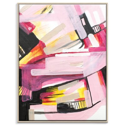 Artist Lane '40415' by Amanda Morie Framed Art Print on Wrapped Canvas
