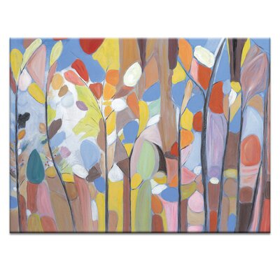 Artist Lane 'Perfect Summer' by Brenda Meynell Art Print on Wrapped Canvas