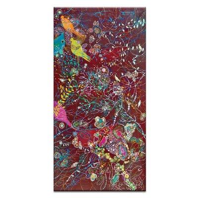 Artist Lane 'Sonidos del atardecer' by Lia Porto Art Print on Wrapped Canvas
