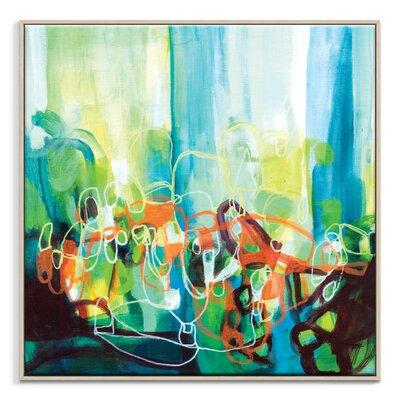 Artist Lane '70715' by Amanda Morie Framed Art Print on Wrapped Canvas