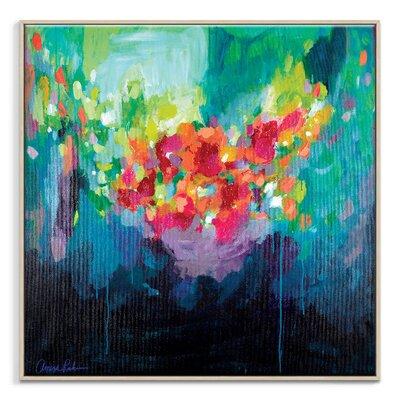 Artist Lane 'Bora Bora' by Amira Rahim Art Print Wrapped on Canvas