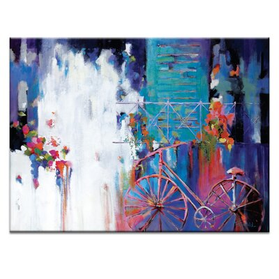Artist Lane 'Just Visiting' by Catherine Fitzgerald Art Print on Wrapped Canvas