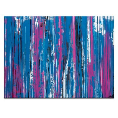 Artist Lane 'Shattered' by Rebecca Vincent Art Print Wrapped on Canvas