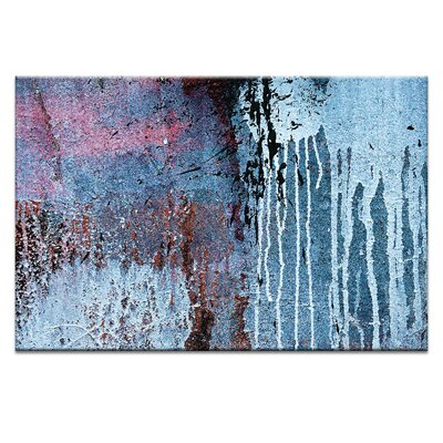 Artist Lane 'Dry Dock Abstract 04' by Bente Andermahr Graphic Art on Wrapped Canvas