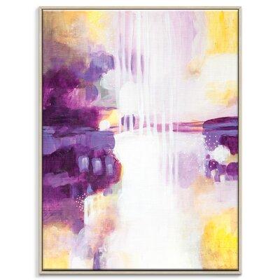 Artist Lane '31715' by Amanda Morie Art Print Wrapped on Canvas