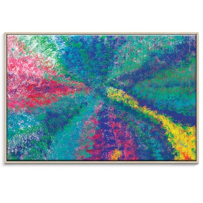 Artist Lane 'Tropical Spray' by Josie Nobile Art Print Wrapped on Canvas