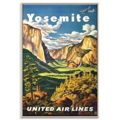 Artist Lane 'Yosemite' Vintage Advertisement Wrapped on Canvas