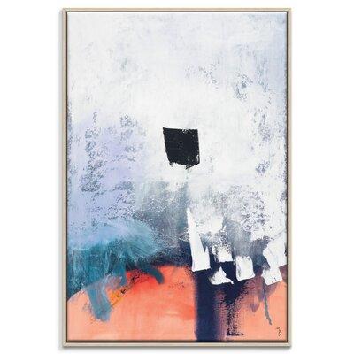 Artist Lane 'Dot' by Mario Burgoa Framed Art Print on Wrapped Canvas