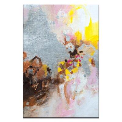 Artist Lane '61015' by Amanda Morie Art Print on Wrapped Canvas