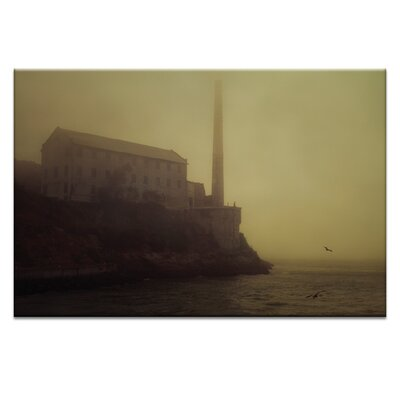 Artist Lane 'Mysterion' by Andrew Paranavitana Photographic Print Wrapped on Canvas