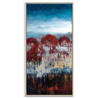 Artist Lane 'Winter Drop' by Lydia Ben-Natan Framed Art Print on Wrapped Canvas