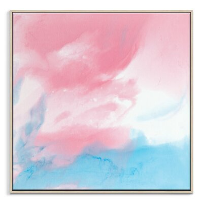 Artist Lane 'Flow 40' by Chalie MacRae Framed Art Print on Wrapped Canvas