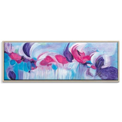 Artist Lane 'Symphony' by Brenda Meynell Art Print Wrapped on Canvas