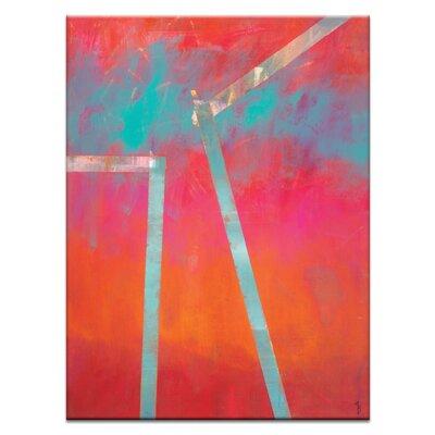 Artist Lane 'Heliopause' by Mario Burgoa Art Print on Wrapped Canvas