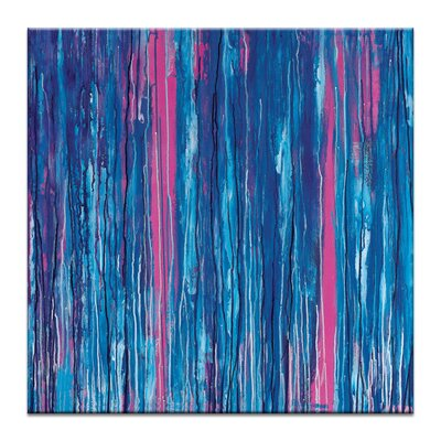 Artist Lane 'Wasted' by Rebecca Vincent Art Print Wrapped on Canvas