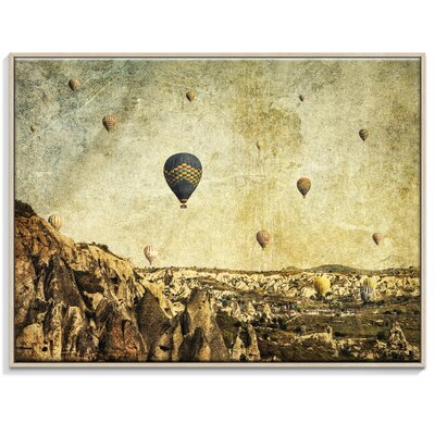 Artist Lane 'Concrete Skies' by Andrew Paranavitana Framed Photographic Print on Wrapped Canvas