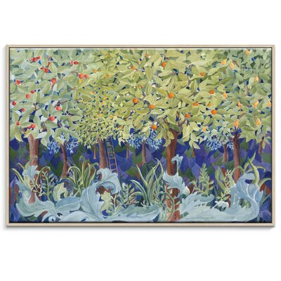 Artist Lane 'Dance in the Woods' by Catherine Fitzgerald Framed Art Print on Wrapped Canvas