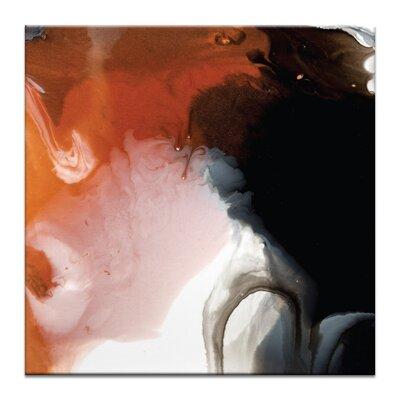 Artist Lane 'Flow 26' by Chalie MacRae Art Print Wrapped on Canvas