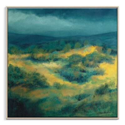 Artist Lane 'Storm Peak' by Lydia Ben-Natan Framed Art Print on Wrapped Canvas