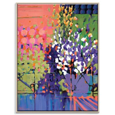 Artist Lane 'Hello Sunshine' by Catherine Fitzgerald Art Print Wrapped on Canvas