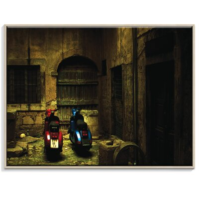 Artist Lane 'Time Travelers' by Andrew Paranavitana Framed Photographic Print on Wrapped Canvas