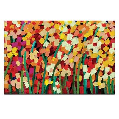 Artist Lane 'Skeeta Daisies' by Anna Blatman Art Print on Wrapped Canvas