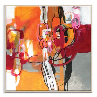 Artist Lane '70615' by Amanda Morie Framed Art Print on Wrapped Canvas