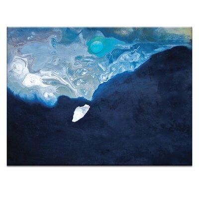 Artist Lane 'Coast #3' by Katherine Boland Art Print on Wrapped Canvas
