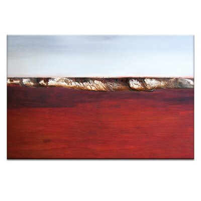 Artist Lane 'Across the Bay #9' by Katherine Boland Art Print on Wrapped Canvas