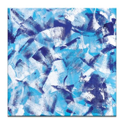 Artist Lane 'Textured 1' by Chalie MacRae Art Print on Wrapped Canvas