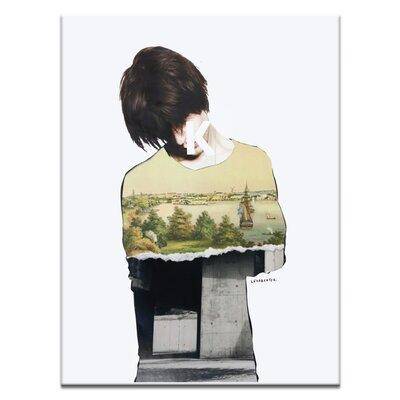 Artist Lane 'Default Guilt' by Steve Leadbeater Graphic Art on Wrapped Canvas